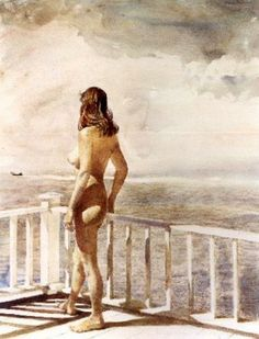 Leaving by Andrew Wyeth