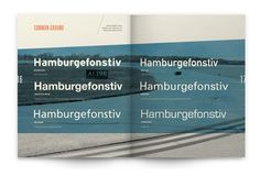 Lifted: A Look at Airport Typography by Sally Carmichael, via Behance