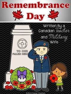 Remembrance Day Canada Unit Remembrance Day Activities, November Thanksgiving, Canadian Soldiers, Teaching Resources, Classroom Resources, Military Wife, Lest We Forget, We Remember, Veterans Day