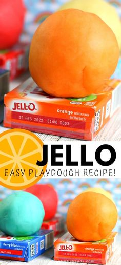 Jello Playdough Recipe | Little Bins for Little Hands