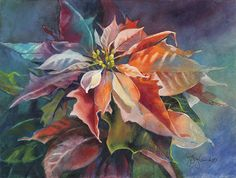 Watercolor Flower Paintings - Jeanne Hyland, Artist & Instructor