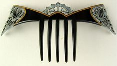 The Ebay Auction Everyone Was Talking About | Barbaraanne's Hair Comb Blog