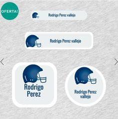Diseños de Football Americano!