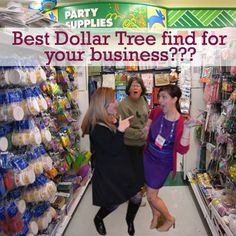 Tell us! What's been your best find at the Dollar Tree for your biz? An office supply? A giveaway?? We wanna know....