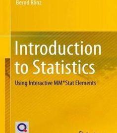Introduction To Statistics PDF