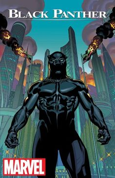 The cover of Black Panter to be published by Marvel next year