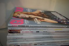 Magazines will always be my first love. I've been stacking them since the age of twelve.