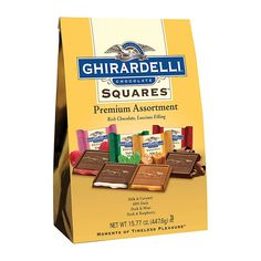 Ready to please the entire office? Fill the work candy jar with Ghirardelli Premium Assortment Chocolate Squares and each of your chocolate loving coworkers . Chocolate Gifts, Chocolate Flavors, Mint Chocolate, Chocolate Bars, Melting Chocolate, Chocolates, Fudge Recipes, Gourmet Recipes, Office Candy Dish