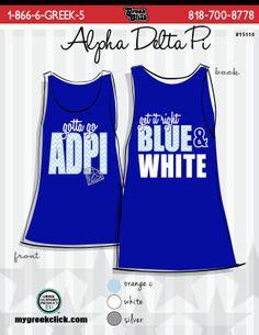 Alpha Delta Pi Bid Day