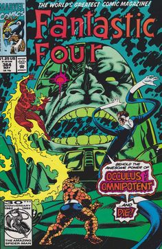 Fantastic Four #364 - Omnipotent is Occulus!