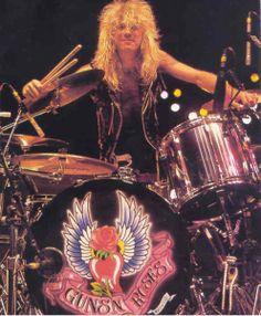 Steven Adler  (Guns N' Roses) Michael Coletti