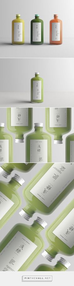 Fruitvale / conceptual Chinese cafe / design by Lanjing Zhu Tea Packaging, Beverage Packaging, Bottle Packaging, Brand Packaging, Packaging Design, Branding Design, Corporate Design, Cafe Design, Web Design
