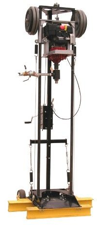 Portable water well drill rig compact location well drilling man portable drill ...Click here to visit www.portadrillmini.com