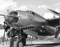 Martin B-26 Marauder  B-26C-45-MO Marauder  s/n 42-107582  454th BS, 323rd BG, 9th AF