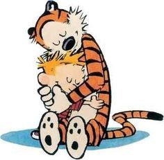 Calvin and Hobbes: Classic Cartoons - .-Calvin und Hobbes: Klassische Cartoons – Calvin and Hobbes: Classic Cartoons – - Calvin Und Hobbes, Calvin And Hobbes Comics, Calvin And Hobbes Wallpaper, Calvin And Hobbes Tattoo, Beste Comics, The Embrace, Bd Comics, Classic Cartoons, Illustrations