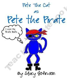 Pete the Cat as Pete the Pirate