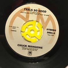"Chuck Mangione Feels So Good 7"" Vinyl 45 rpm Record 1977"