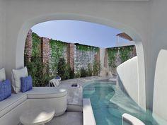 Outdoor Architecture Aloni Hotel, Paros2018 - 2019PrivateWork in progress2145 m2 Resort Interior, Room Interior, Interior Design, Hotel Architecture, Landscape Architecture, Paros, Blue Design, Modern Design, Luxury Master Bathrooms