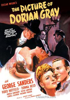 """Based on Oscar Wilde's novel and starring George Sanders and Donna Reed, we've just added the original 1945 version of """"The Picture of Dorian Gray"""" to the PLVD collection."""