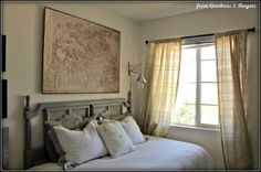 from Gardners 2 Bergers: ➷ Restoration Hardware Decoupage Map ▫Knock Off▫ ➹ Diy Home Decor Projects, Cool Diy Projects, Furniture Projects, Decor Ideas, Diy Ideas, Project Ideas, Art Projects, Craft Ideas, Industrial Style Lighting