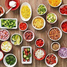 how to set up a salad bar business