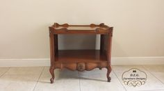 Country French  Weiman  Heirloom  Quality  Table by DEGFURNITUREDESIGNS on Etsy