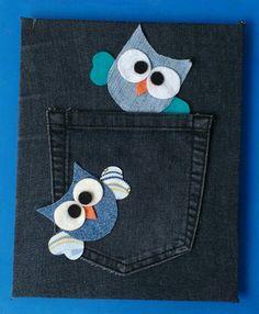 JEAN Applique Patterns, Applique Designs, Sewing Patterns, Jean Crafts, Denim Crafts, Sewing Crafts, Sewing Projects, Fabric Cards, Denim Ideas