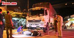 Tạt đầu xe tải, cô gái trẻ bị tông rồi kéo lê nguy kịch