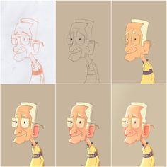 Grandpa Progression by 8Hours.deviantart.com on @deviantART