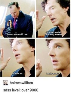 I laughed.but I did feel sorry for Mycroft. I hate when Sherlock makes me feel that way.>>> i dont feel bad for mycroft Sherlock Holmes Quotes, Sherlock Holmes Bbc, Sherlock Holmes Benedict Cumberbatch, Sherlock Fandom, Sherlock John, Watson Sherlock, Jim Moriarty, Sherlock Comic, Benedict Sherlock