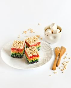 Rainbow Rice Krispies Treats, because it shows me every color then I can do any color combo and these are always a fav!!!