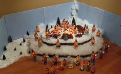 Kailasam Diwali Decorations, Festival Decorations, Flower Decorations, Housewarming Decorations, Ganapati Decoration, Decoration For Ganpati, Diy Golu Dolls, Cool Diy Projects, Projects To Try