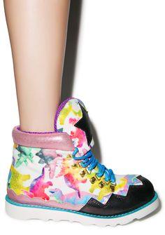 Kawaii Girl PinkyP Fashion Blog: Kawaii Rockin' Boppin shoes and boots - Tokidoki, Harajuku styleee