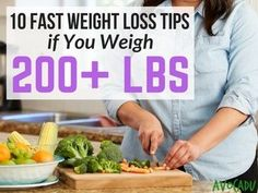 These fast weight loss tips if you weigh 200 lbs are perfect for you if you feel like you've tried everything under the sun and still can't lose weight! Quick Weight Loss Tips, Weight Loss Help, Need To Lose Weight, Losing Weight Tips, Diet Plans To Lose Weight, Healthy Weight Loss, Loose Weight, Reduce Weight, Lose Fat