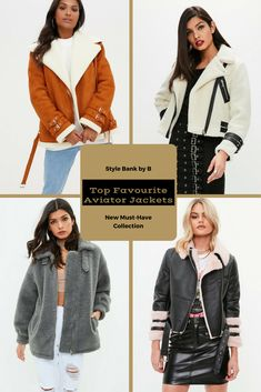 Aviator jackets are in and are one of the must-have jackets! 😍❤️ So check out our Top Favourite Aviator Jackets collection here - http://www.stylebankbyb.com/fashion/must-have-top-favourite-aviator-jackets