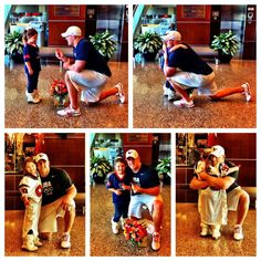 """23-year-old Houston Texan's defensive end J.J. Watt. saw 6-year-old Breanna. Her parents recorded a video of her tearfully wishing she was 25 so she could marry her biggest crush, Watt saw the video and tweeted """"Does anyone happen to know this cute little girl? We have to find her and turn those tears into a smile."""" In just 2 days Watt not only tracked down the girl, met her and made her wish come true - we found 6-year-old Breanna and she said yes to being my pretend wife for the day."""""""