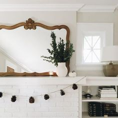 Mantel decor We are want to say thanks if you like to share this post to another people via your facebook, pinterest, google plus or twitter account. Right Click to save picture or tap and hold for seven second if you are using iphone or ipad. Source by : a-joyfuljourney.tumblr.com