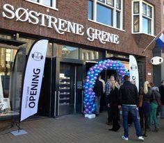 Så ankom Søstrene Grene til Groningen /Nederland