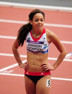 katarina johnson-thompson - Britain's up and coming talent Katarina Johnson Thompson, Heptathlon, Jennifer Aniston Style, Abs Women, Fit Black Women, Women Volleyball, Olympic Athletes, Sporty Girls, Boxing Workout