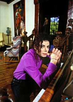 Michael Jackson inside his Neverland Valley Ranch - 5225 Figueroa Mountain Road, Los Olivos, CA