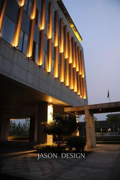 东湖公共服务中心夜景亮化工程设计-LIGHT UP點亮