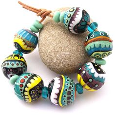 Focal Beads by Romana May-July 2012