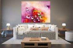 Modern abstract painting,Modern Abstract Painting,original painting,modern home,abstract decor,modern textured FY0046
