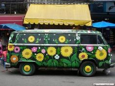 velvetwoods: Unleash your inner vintage,boho,hippy,gypsy Volkswagen Bus, Vw T1, American Graffiti, Hippie Car, Hippie Boho, My Dream Car, Dream Cars, Motorhome, Combi Ww