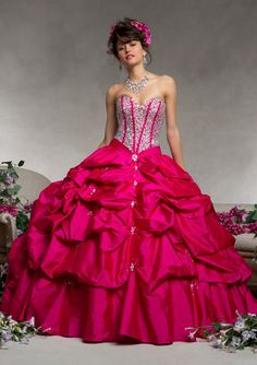 QUINCEANERA VIZCAYA By Mori Lee Style 88064 (colors in stock: Cerise; Bluebird)