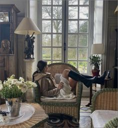 Private School Girl, Rich Kids, The Hamptons, Wicker, Accent Chairs, Throw Pillows, Bed, Table, Furniture