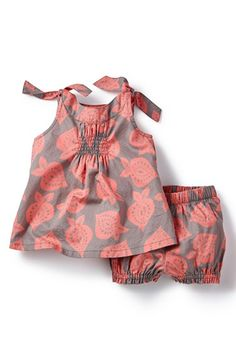 Tea Collection 'Salajama' Print Tunic & Shorts (Baby Girls) available at #Nordstrom