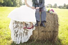 hay bales?  there may be some in the field on my wedding day