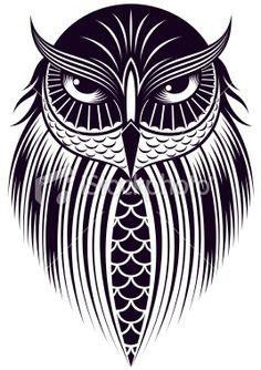 owl Royalty Free Stock Vector Art Illustration: