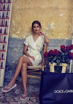Dolce&Gabbana Alta Moda backstage - Naples 2016